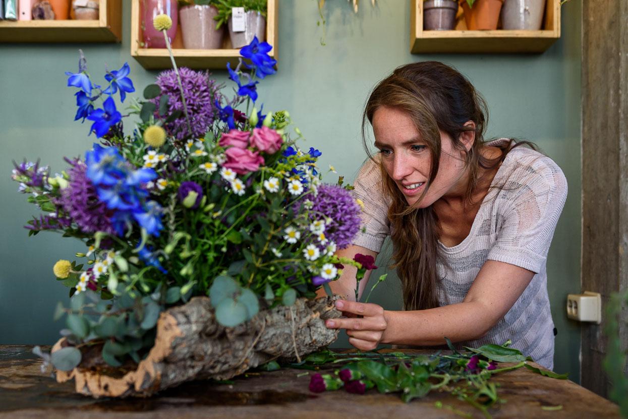 afscheidsbloemen van bloemmarie
