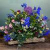 Afscheidsbloemen veldbloemen rouwwerk